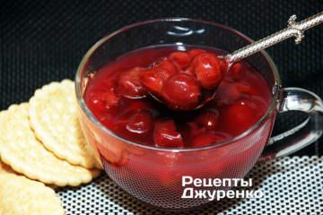 Фото рецепта вишневий кисіль