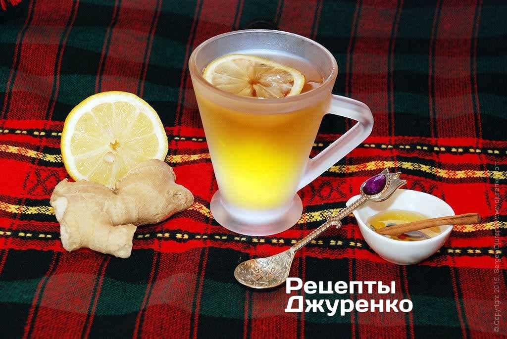 имбирный чай для похудения рецепт в термосе
