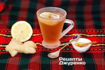 Чай з імбирем