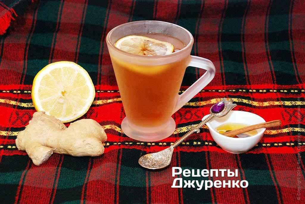 Імбирний чай фото рецепту