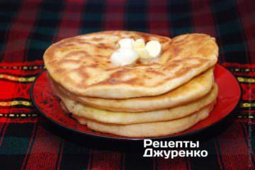 Фото рецепта хачапури с сыром