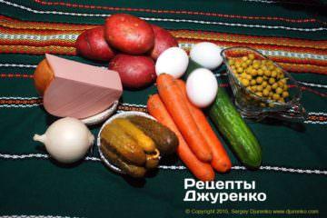 Крок 1: набір для салату