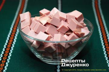 Шаг 1: докторская колбаса