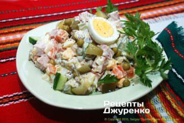 салат оливье фото рецепта