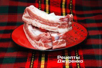 Свиные ребра