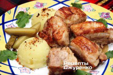 Як гарнір підійде картопляне пюре
