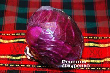 Капуста фиолетовая
