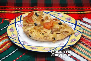 Фото рецепта лапшевник — солодка запіканка з локшини