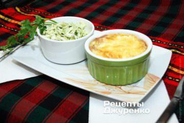 Грибы запеченные с сыром