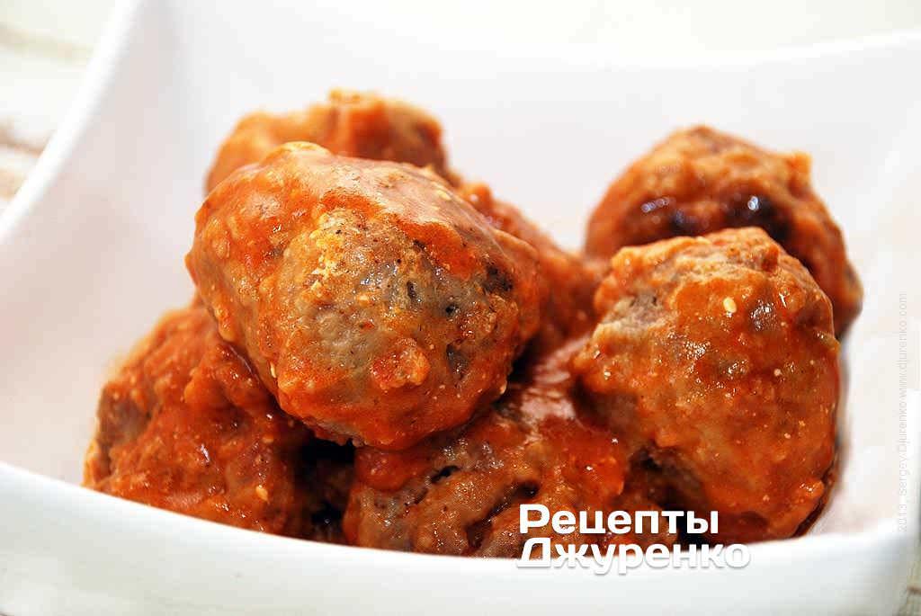 Тефтели из свинины в соусе – рецепт приготовления с фото от Kulina.Ru