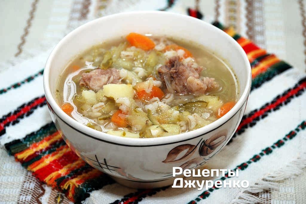 Суп рассольник с рисом пошаговый рецепт с фото