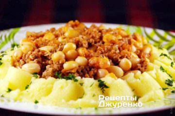 Фото к рецепту: фасоль в томатном соусе