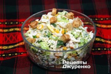 Можно заправить салат майонезом