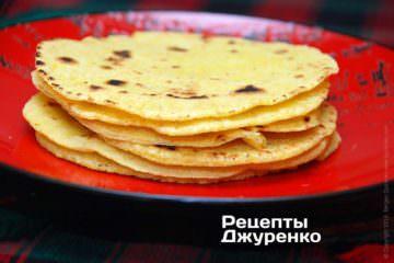 Фото до рецепту: тортілья