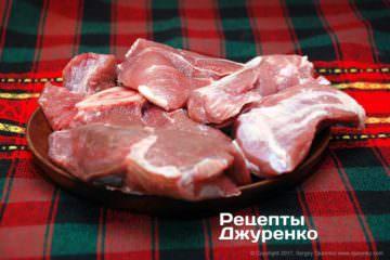 Яловичина і свинина для фаршу