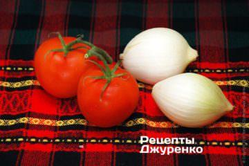 Овочі для соусу