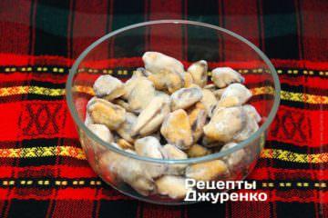 мідії заморожені
