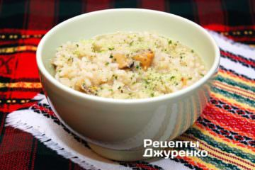 Фото рецепта різотто з мідіями