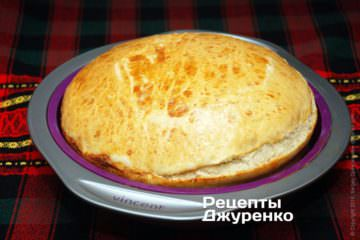 готовый пшеничный хлеб