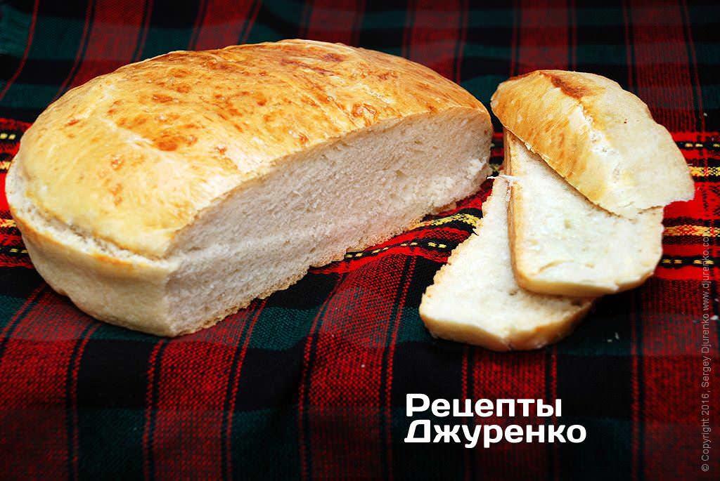 хлеб из пшеничной муки фото рецепта