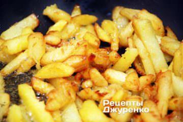 пожарить картошку