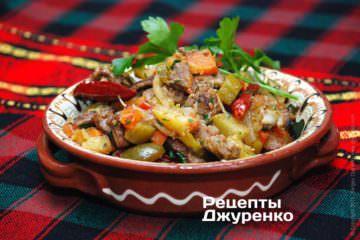 Фото до рецепту: азу з яловичини
