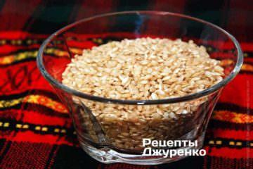 Нешліфований коричневий рис