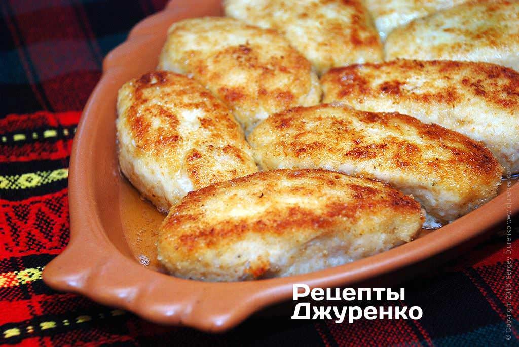 Рецепты из куриного фарша котлеты в духовке