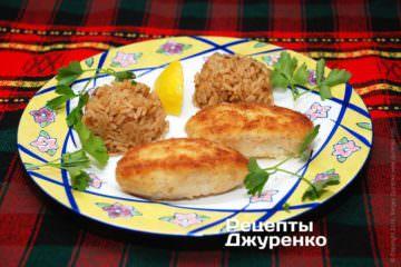 Фото рецепта куриные котлеты из филе