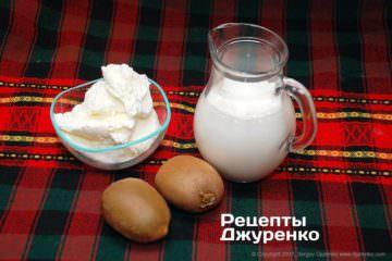 морозиво і молоко