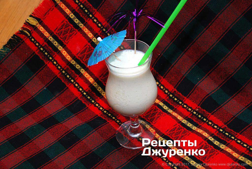 Молочний коктейль з морозивом