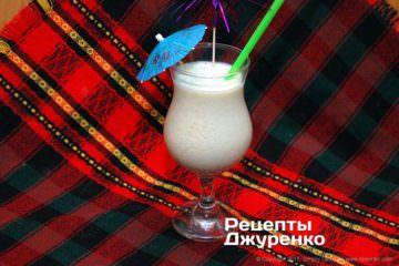 Фото рецепта молочный коктейль