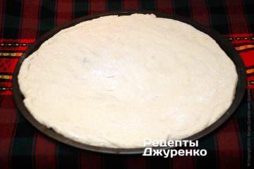 Подготовить тесто для пиццы