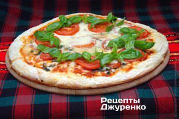 Фото к рецепту: пицца маргарита