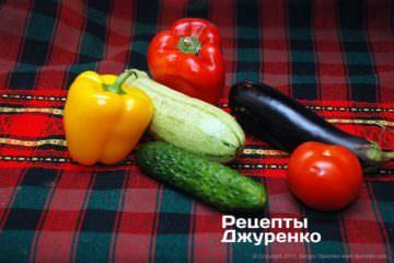 овочі для гарніру