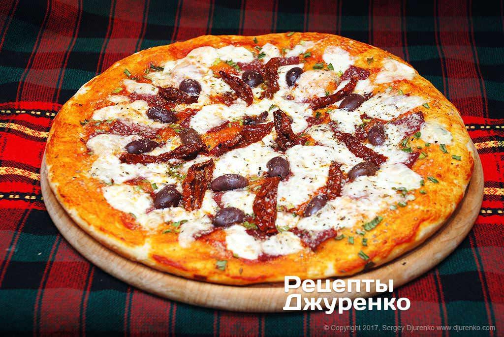 Сырная пицца рецепт с пошагово в