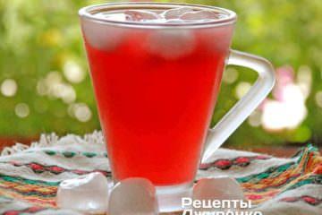 Фото к рецепту: каркаде — освежающий напиток