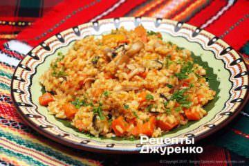 Рис с морепродуктами по-мексикански