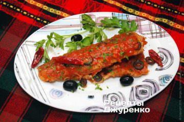 Риба з оливками