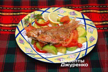 Фото рецепта жареная барабулька
