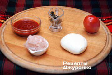 Інгредієнти для начинки