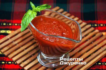 Фото рецепта соус з томатів