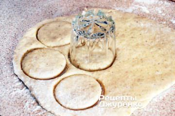 Вирізати заготовки печива