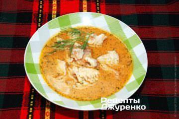 Фото рецепта суп из рыбы