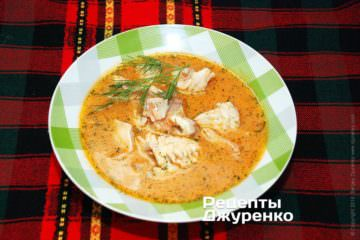 Суп з окуня