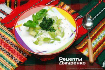 суп з кабачка