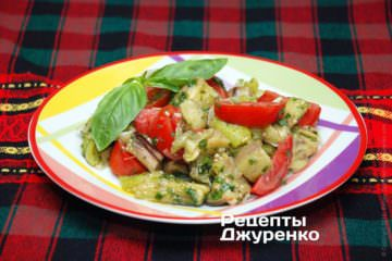 Фото рецепта закуска из баклажанов
