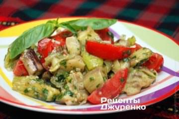 змішати салат