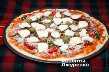Викласти зелені оливки