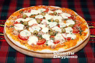 Испечь пиццу в духовке
